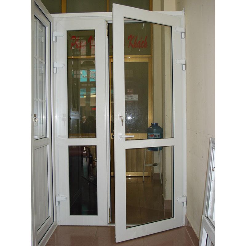 Kích thước lỗ ban cửa đi với cửa đi 2 cánh lệch mở quay (1 cánh to, 1 cánh bé)