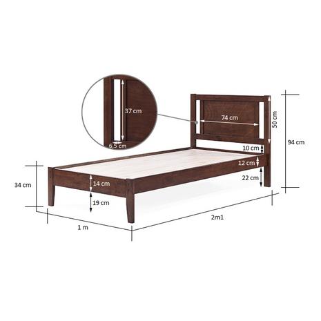 Kích thước thiết kế giường nhỏ cho bé