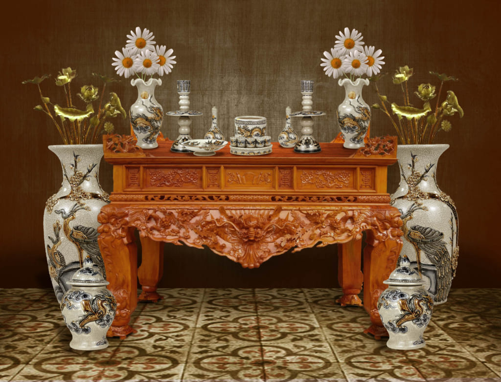 Thước lỗ ban bàn thờ được xác định như thế nào cho hợp Phong Thủy?