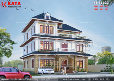 Không gian kiến trúc hiện đại cùng giải pháp thiết kế nhà đã mang lại một không gian sống hoàn hảo