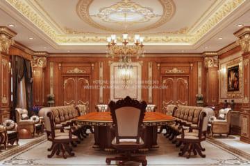 Thiết kế nội thất phòng họp đẳng cấp NT 81012