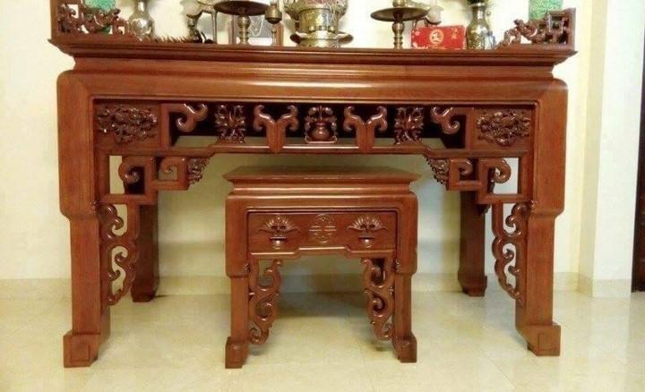 Thước lỗ ban cho bàn thờ - Kích thước bàn thờ chuẩn theo thước lỗ ban