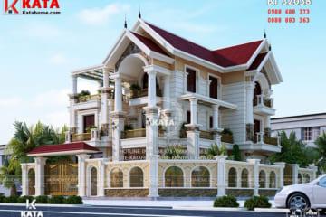 Thiết kế nhà 3 tầng kiến trúc tân cổ điển tại Hải Dương – Mã số: BT 32038