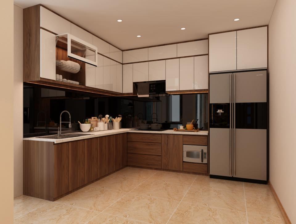 Nội thất phòng bếp ăn đẹp BT 21109