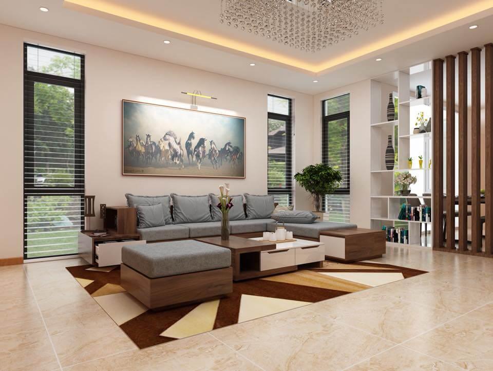 Nội thất nhà đẹp 2 tầng đơn giản BT 21109