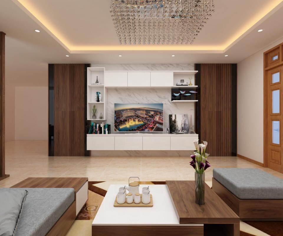 Nội thất nhà đẹp 2 tầnNội thất phòng khách đẹp BT 21109g đơn giản BT 21109