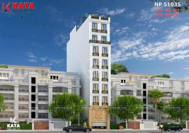 Thiết kế khách sạn mini NP 51035