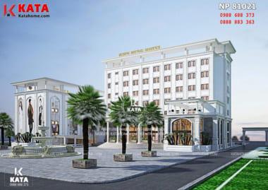 Mẫu thiết kế khách sạn 5 sao đẹp tại Thái Bình sang trọng và cuốn hút