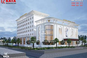 Mẫu thiết kế khách sạn 5 sao đẹp tại Thái Bình - Mã số: KS 81021