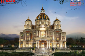 Phối cảnh 3D chi tiết của mẫu lâu đài đẹp nhất Việt Nam tại Ninh Bình