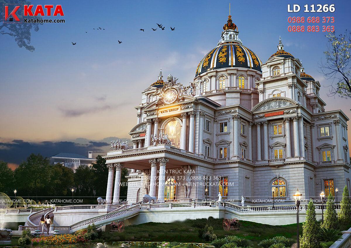 Mẫu lâu đài đẹp nhất Việt Nam được thiết kế mang đậm dấu ấn của phong cách kiến trúc cổ điển