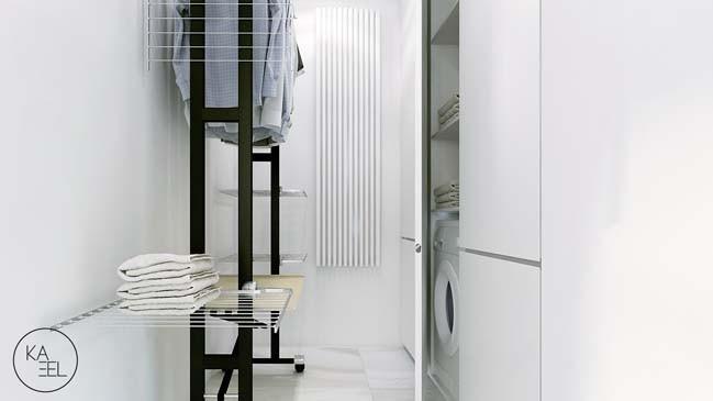 Tủ đồ trong phòng ngủ cũng cần được thiết kế sáng sủa, tinh tế