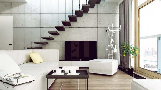 Những nội thất trung tính từ Kata tạo nên sự sang trọng trong căn nhà