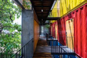 Ccasa Hostel là khách sạn container đầu tiên của Nha Trang vừa được tạp chí kiến trúc nổi tiếng Archdaily giới thiệu