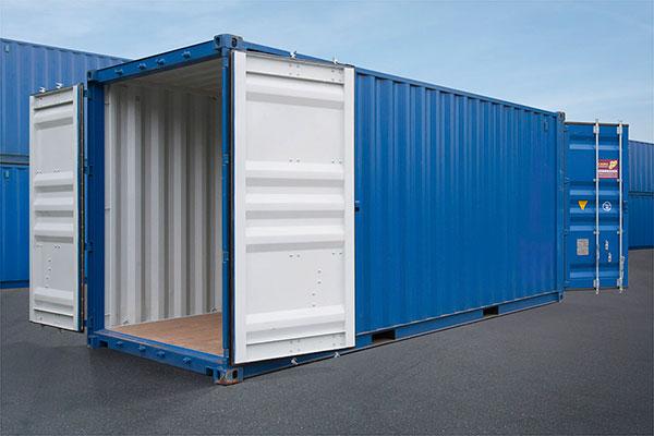 Đặc tính và kích thước Container 20 feet hai cửa