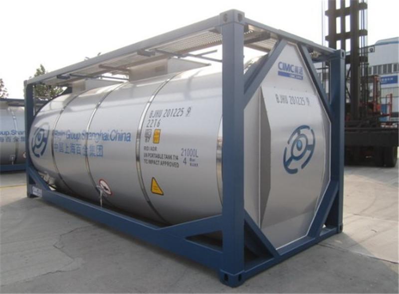 Đặc tính và kích thước Container 20 feet Bồn (IMO)