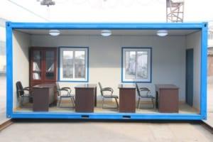 View bên trong văn phòng container giá rẻ