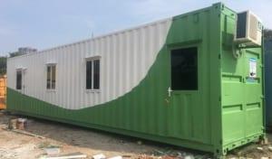 Container được nhiều đơn vị đặt làm nơi ngủ trưa cho nhân viên