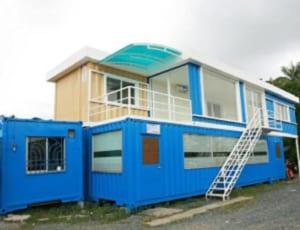Container văn phòng giá rẻ 2 tầng nổi bật