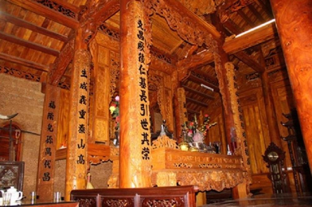 Mẫu nhà gỗ Mít của ông Nguyễn Văn Nho (Hòa Lạc - Hà Nội)
