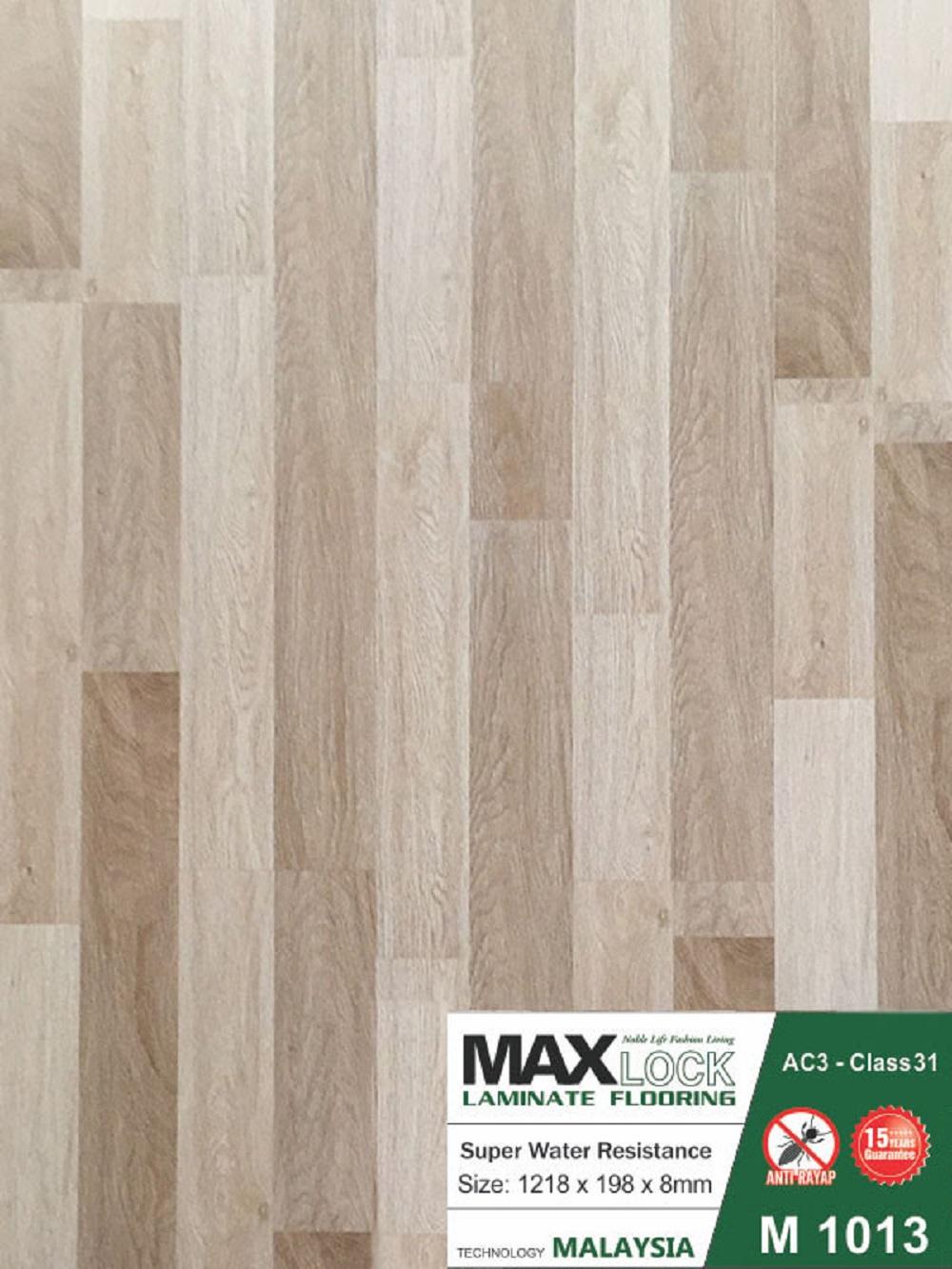 Sàn gỗ công nghiệp MAXLOCK - Sàn gỗ giá rẻ