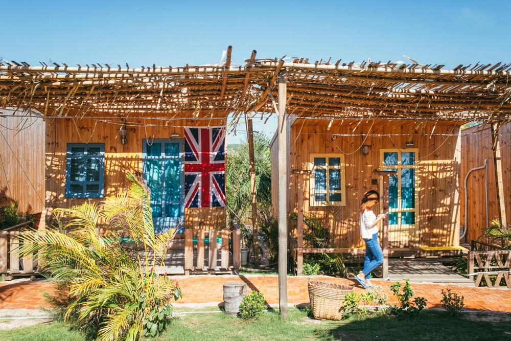 Nhà gỗ Mỹ Sơn tại Bình Thuận - Khách sạn giá rẻ - 1