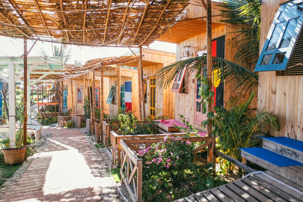 Nhà gỗ Mỹ Sơn tại Bình Thuận - Khách sạn giá rẻ - 6