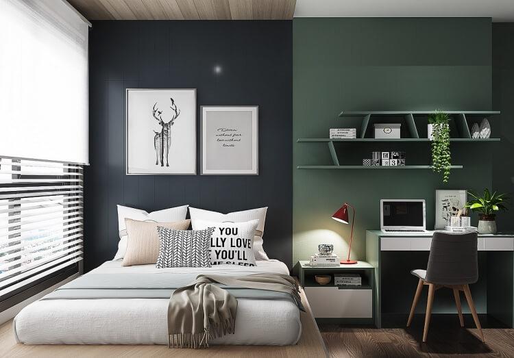 10 mẫu phòng ngủ đẹp không lo lỗi mốt - 2