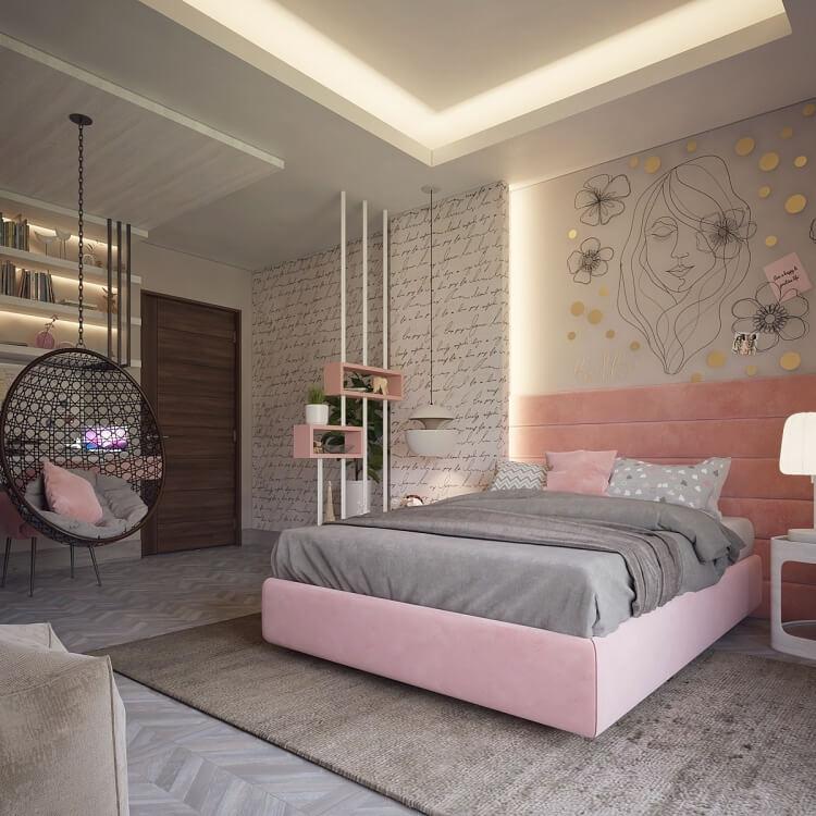 10 mẫu phòng ngủ đẹp không lo lỗi mốt - 3