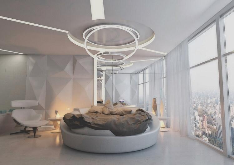 10 mẫu phòng ngủ đẹp không lo lỗi mốt - 4