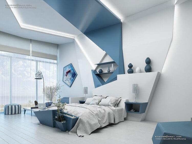 10 mẫu phòng ngủ đẹp không lo lỗi mốt - 7