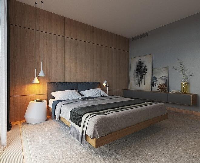 10 mẫu phòng ngủ đẹp không lo lỗi mốt - 8
