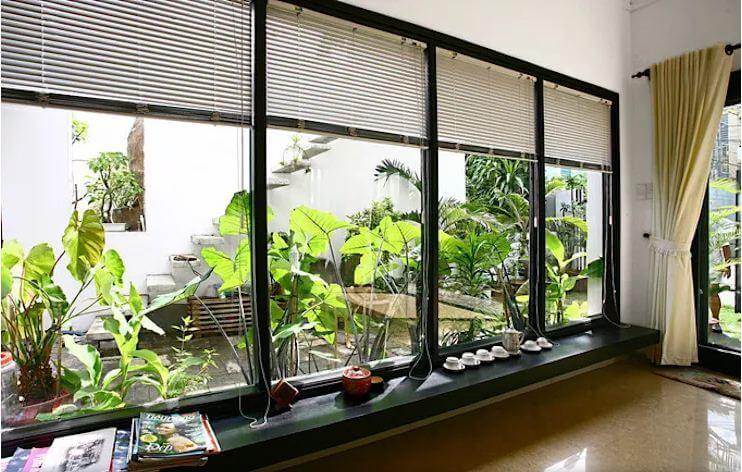 Phòng khách trong vườn - Nội thất phòng khách đẹp