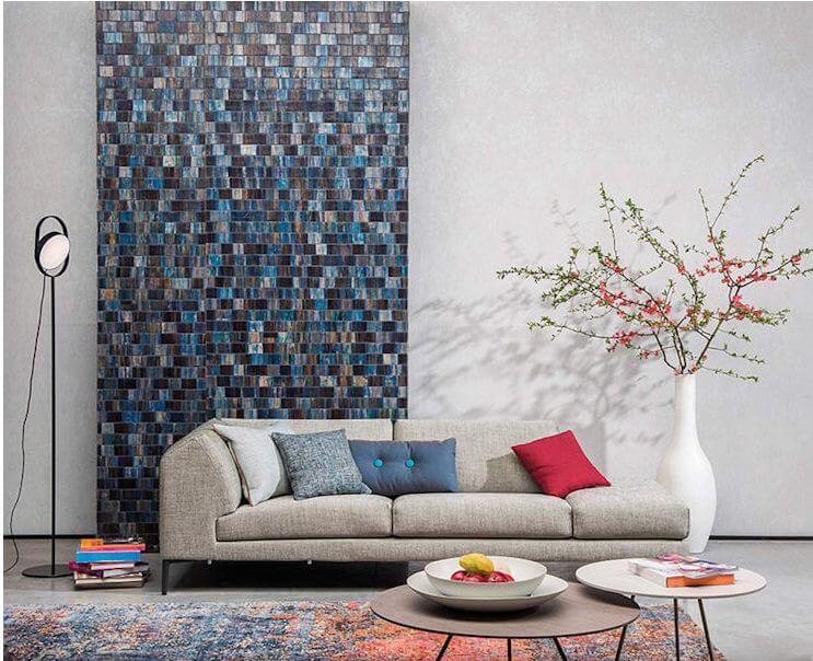 Mix màu sắc - Nội thất phòng khách đẹp