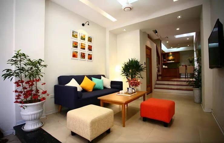 Đơn giản nhưng ấn tượng - Nội thất phòng khách đẹp