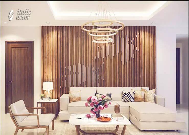 Sự ấm áp của gỗ - Nội thất phòng khách đẹp