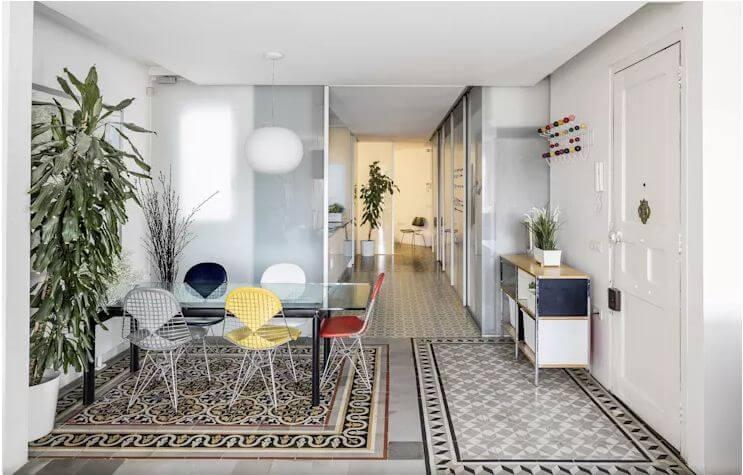 Sự kết hợp của các món đồ nội thất đơn giản - Nội thất phòng khách đẹp