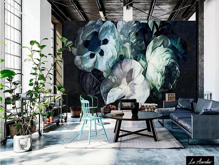 Nghệ thuật quyến rũ - Nội thất phòng khách đẹp