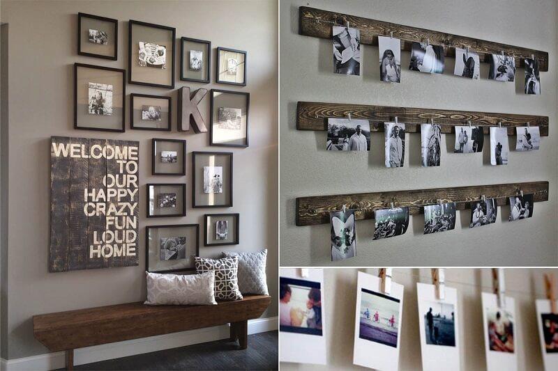 Những bức ảnh kỷ niệm - Trang trí phòng ngủ