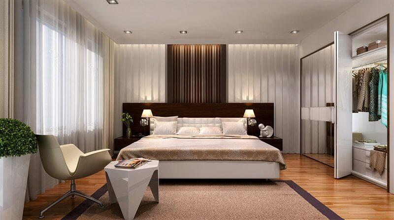 Hiệu ứng ánh sáng - Trang trí phòng ngủ