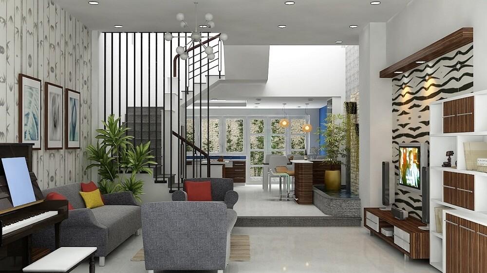 Phòng khách - Những lưu ý khi muốn có không gian nội thất nhà đẹp