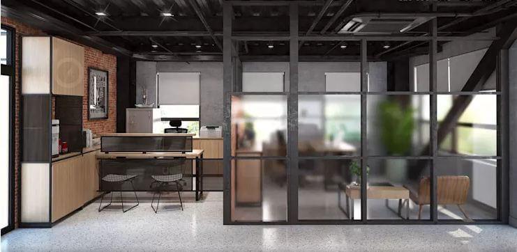 Phong cách công nghiệp đầy cảm hứng - Nội thất văn phòng - 1