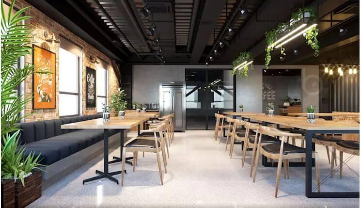 Khu Coffee năng động mang tính kết nối cao - Nội thất văn phòng - 4