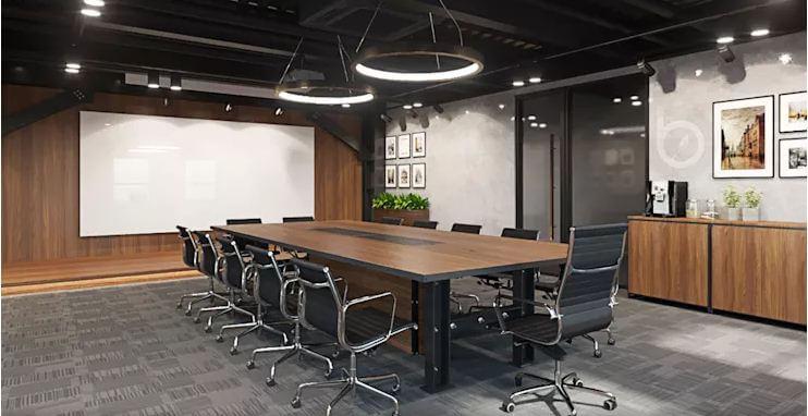 Phòng họp với trang thiết bị tiện dụng - Nội thất văn phòng