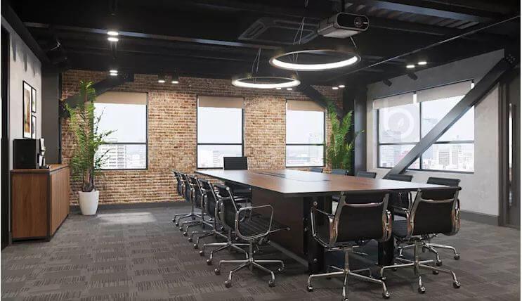 Phòng họp với trang thiết bị tiện dụng - Nội thất văn phòng - 1