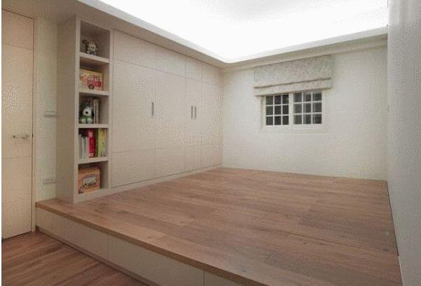 Tận dụng sàn phòng ngủ - Nội thất thông minh