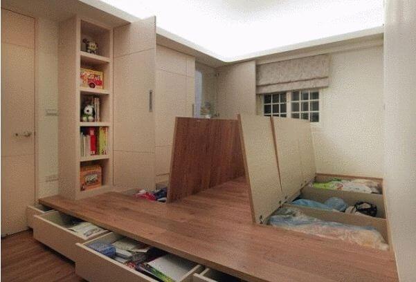 Tận dụng sàn phòng ngủ - Nội thất thông minh - 1