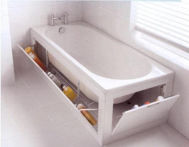 Bồn tắm đa năng - Nội thất thông minh