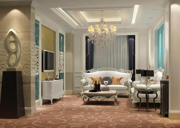 Thiết kế nội thất chung cư theo phong cách kiến trúc cổ điển