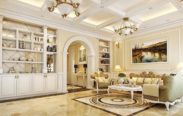 Thiết kế nội thất chung cư theo phong cách kiến trúc Pháp